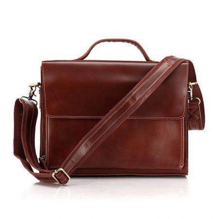 excellent leather messenger bag
