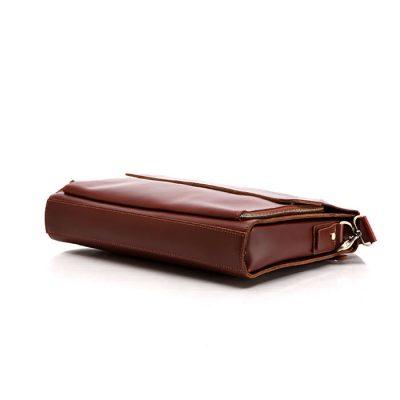 excellent leather messenger bag-bottom