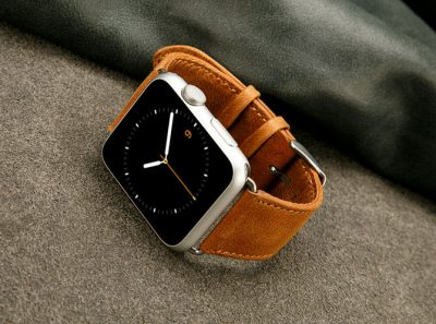 VANGOSEDUN Leather Apple Watch Band-1