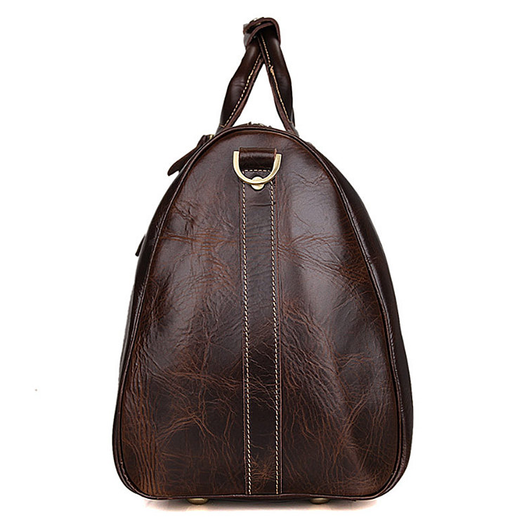 10aa010f93 Classic Leather Duffle Bag-Side
