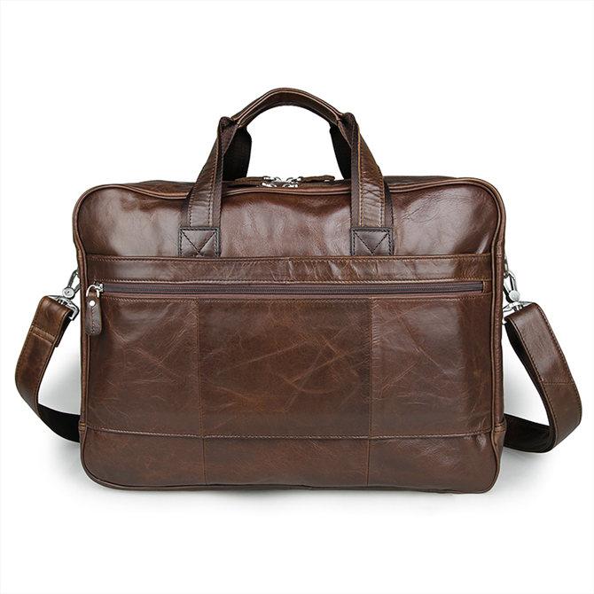 Fashion Leather Laptop Bag Briefcase Travel Bag