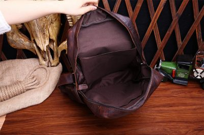 Fashion Travel Backpack For Men-Inside