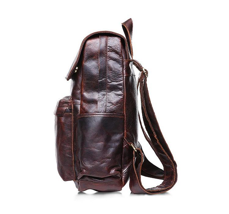 Fashion Blog Leather Duffle Men