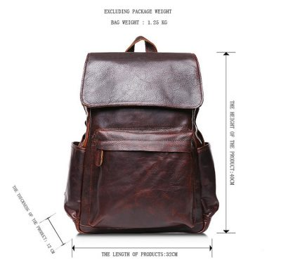 Fashion Travel Backpack For Men-Size