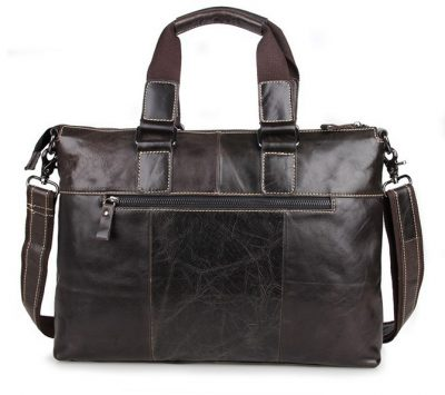 Men and Womens Laptop Messenger Bag-Back