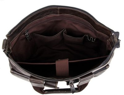 Men and Womens Laptop Messenger Bag-Inside