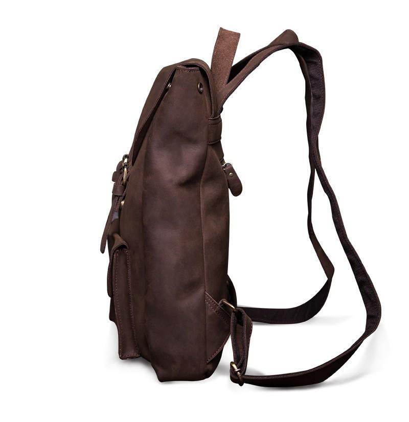 Luxury Vintage Genuine Leather Backpack