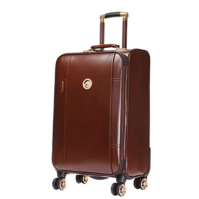 leather travel bags packing