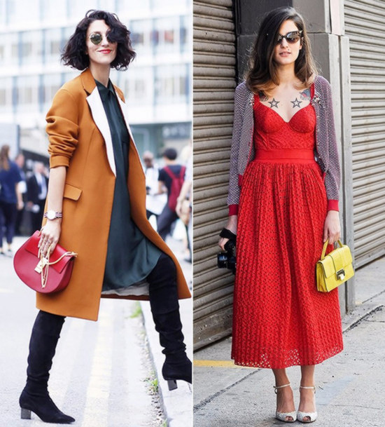 How to match women's bags and clothes
