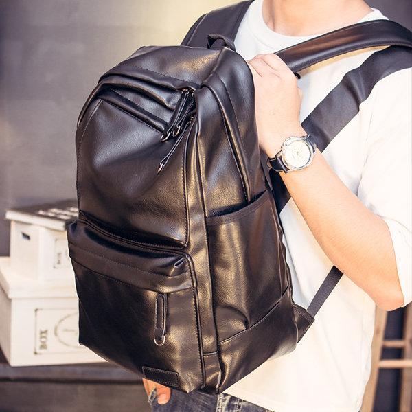 men's casual bag-Brucegao Leather Bag