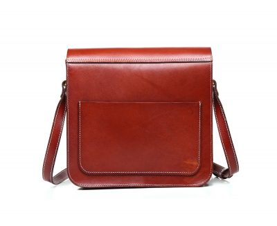 2017 New Small Leather Satchel-Back