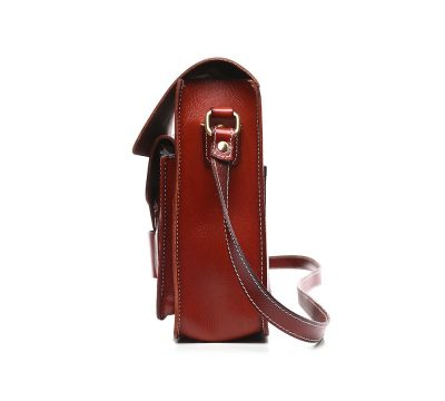 2017 New Small Leather Satchel-Side
