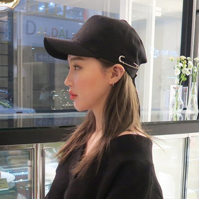 Cap is the comparison of people in the street wearing a hat