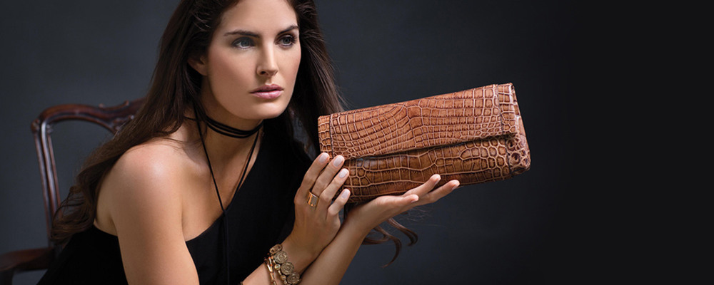 Crocodile bag and ostrich skin bag is the choice of women