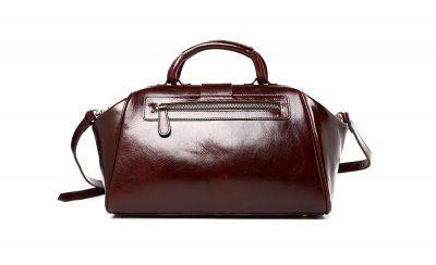 Designer Genuine Leather Handbag-Back