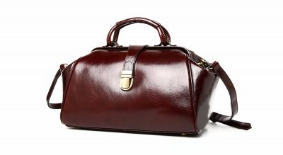 Designer Genuine Leather Handbag-Left