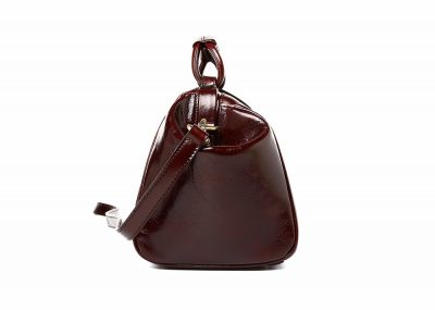 Designer Genuine Leather Handbag-Side