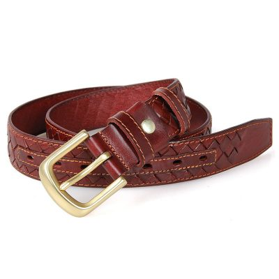 Durable Men's Leather Belt-1