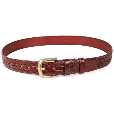 Durable Men's Leather Belt-Long