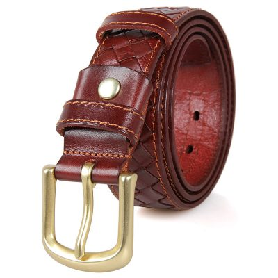 Durable Men's Leather Belts