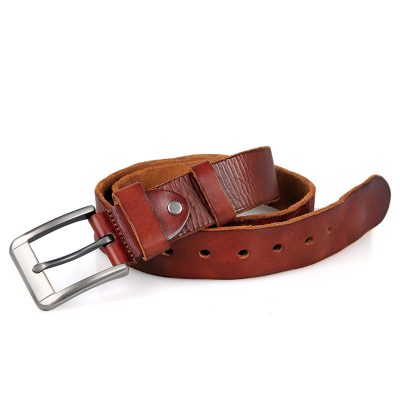 Durable Vegetable Leather Belt-1