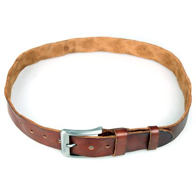 Durable Vegetable Leather Belt-Long