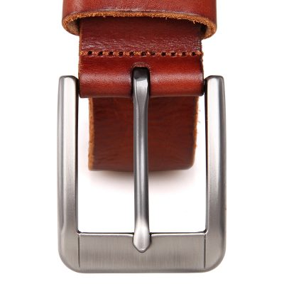 Durable Vegetable Leather Belt-Top