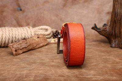 Fashion Leather Belt-Back