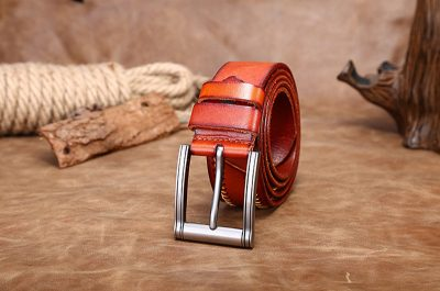 Fashion Leather Belt-Front
