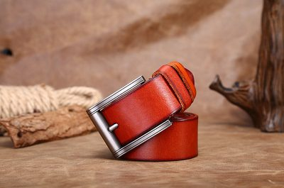 Fashion Leather Belt-Long
