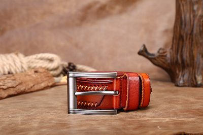Fashion Leather Belt-Side