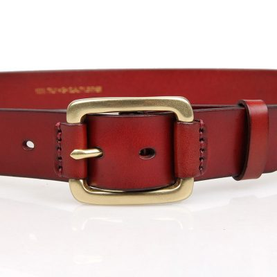 Handmade Leather Belts-Front