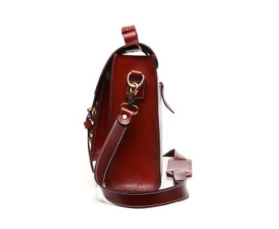 Hot Fashion Leather Satchel-Side