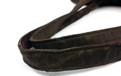 Mosaic Leather Handbag-Details-2