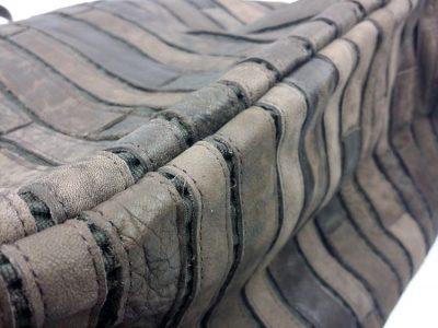 Mosaic Leather Handbag-Details