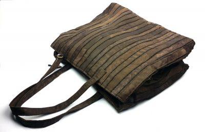 Mosaic Leather Handbag-Front