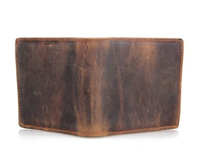 Slim Vintage Leather Wallet Pocket Wallet-Long