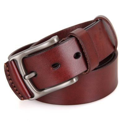 Vegetable Handmade Leather Belt-Front