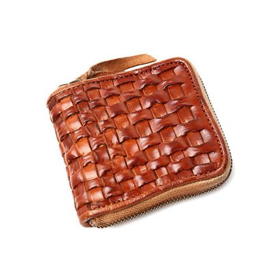 Vegetable Tanned Leather Purse