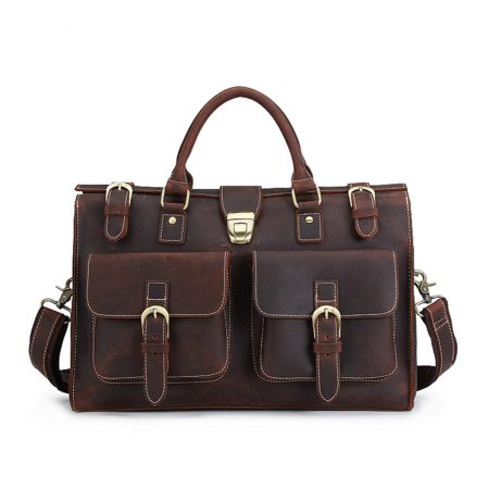 Weekend Leather Satchel