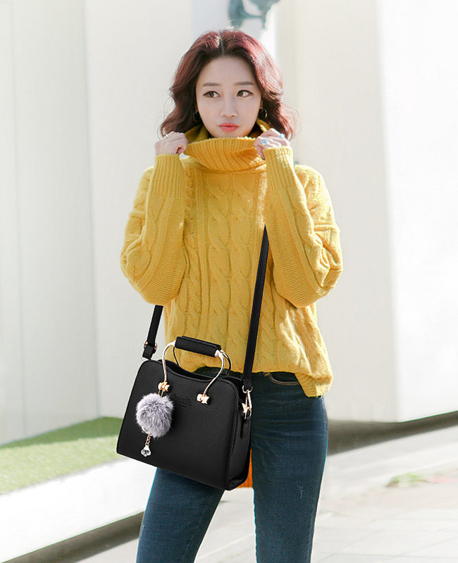 black handbag satchel