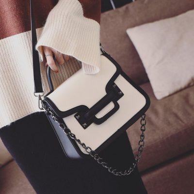 leather handbag is something like envelopes