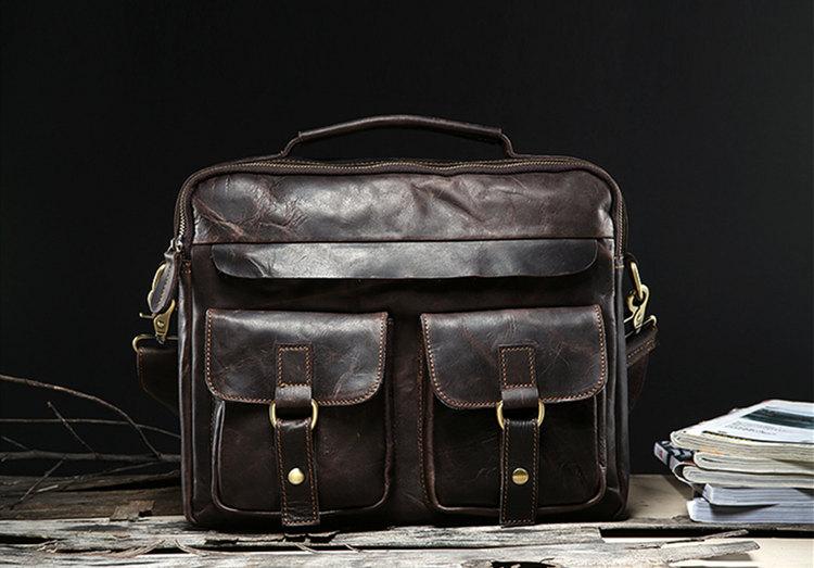 original retro handmade leather bags