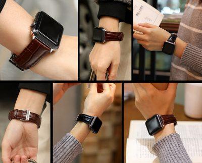 Alligator Apple Watch Bands