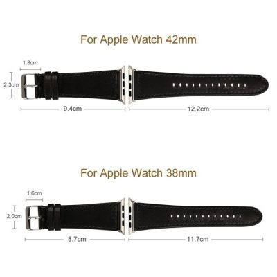 Black Apple Watch Band-Size