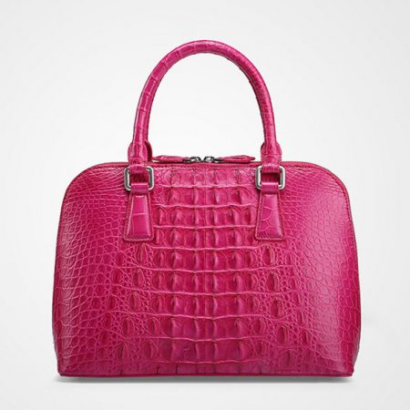 Classic Genuine Crocodile Handbag-Back