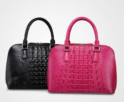 Classic Genuine Crocodile Handbag-Exhibition