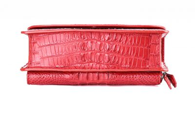 Crocodile Clutch Evening Bag, Handbag, Crossbody Bag-Bottom