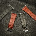Crocodile Pattern Apple Watch Band-Details