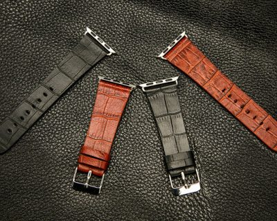 Crocodile Pattern Apple Watch Band-Details